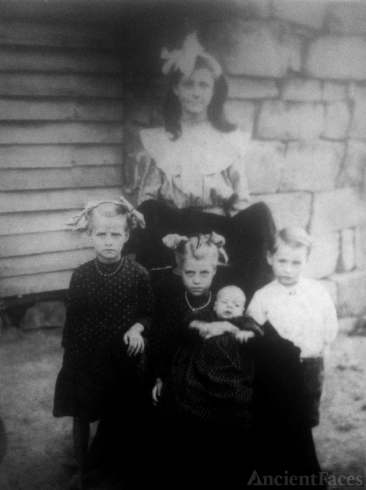 Oda Zachary Family, Tennessee 1910