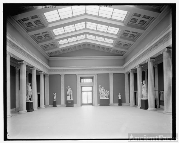 [Buffalo, N.Y., sculpture court, Albright Art Museum]