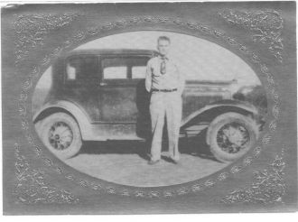 Davis man and car