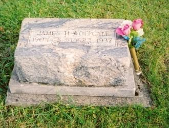 James Henry Wolfcale gravestone