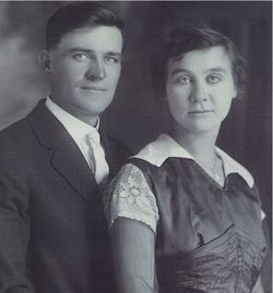 Fred Albert Rhodes & Wife Sarah Cain