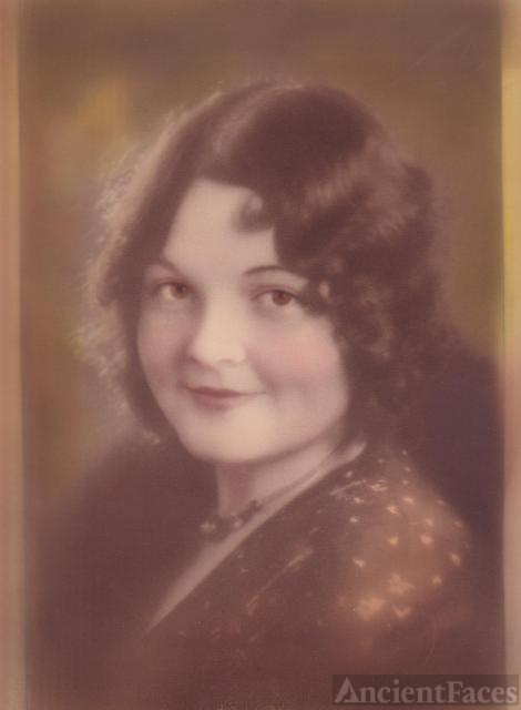 Possibly young Sally Franklin Baker