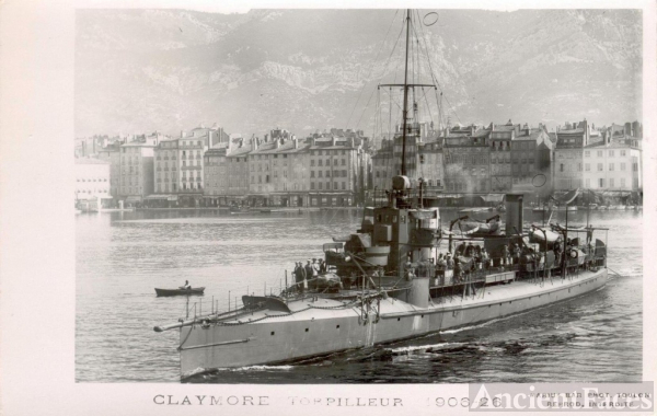 Marius Bar photo of Claymore French Destroyer
