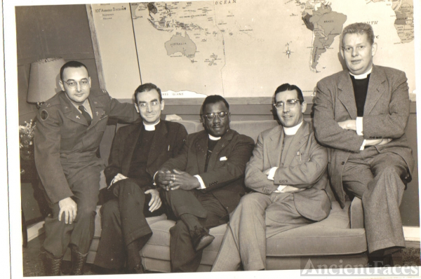 Rev. James William Rice  (far left)