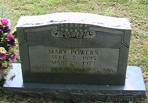 Mary (Deel) Powers Gravesite