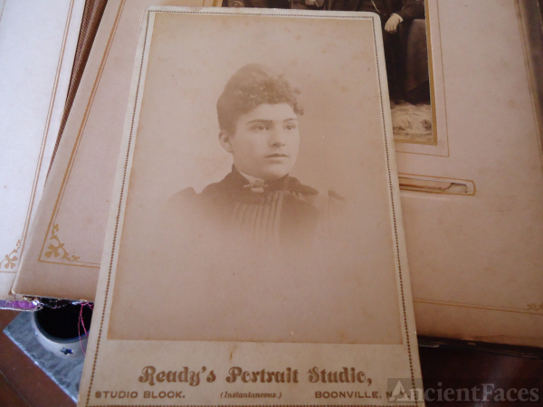 Unknown lady, Boonville New York