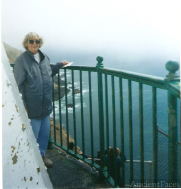 "Mary ""mef"" Davis Holbrook  at Lighthouse"