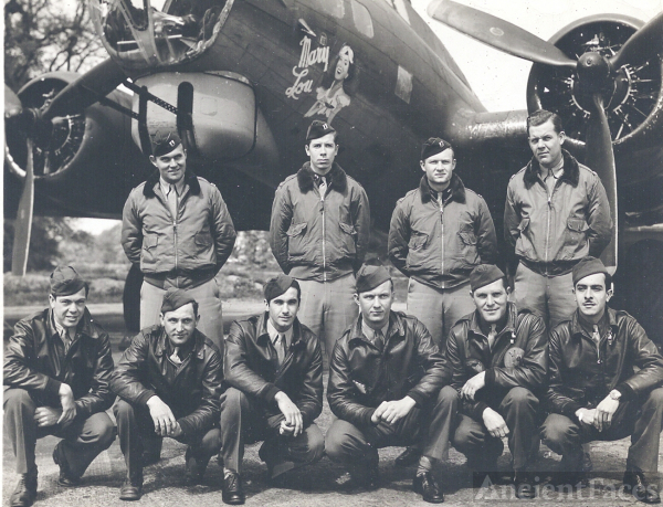 B-17 Crew of Mary Lou, 1943