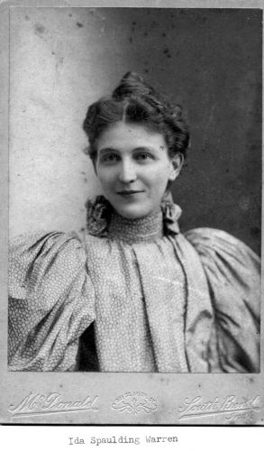 A photo of Ida Spaulding