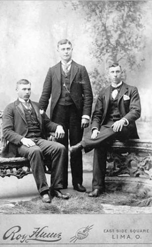 Samuel Logan, James, and Charles Bays