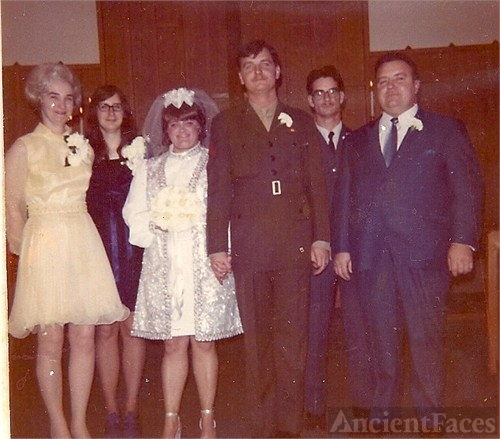 Busch Wedding, 1971 Michigan