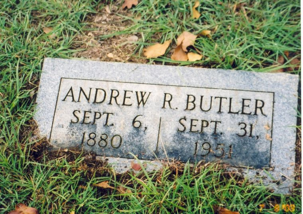Andrew Richard Butler