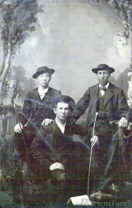 Unknown men - Tintype