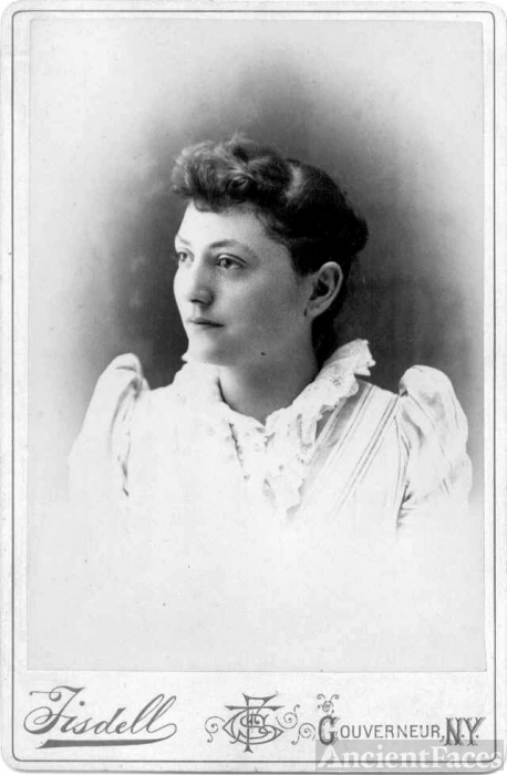 F.S. Tisdell, Gouverneur NY: Unknown Woman