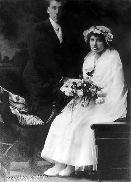 Nick and Margaret (Tombers) Rassier, 1916