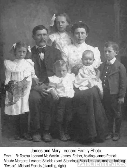 James and Mary Leonard and Family