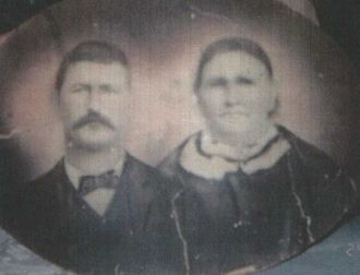 Ben Coonfield and wife Martha Frances Young Stewrt