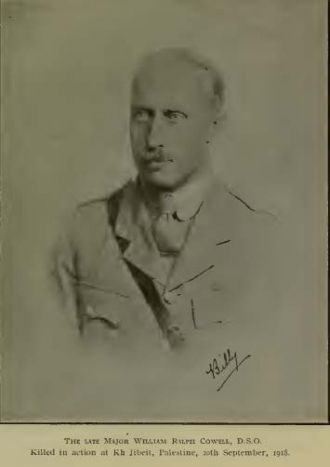 William Ralph Cowell, Major   DSO