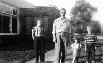 Paul J. Schwenn and children