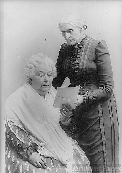 the life of elizabeth cady stanton who fought for the womens right to vote Elizabeth started all the trouble has 264 even vote but elizabeth cady stanton didn't to fight for the right for equality in all aspects of life.