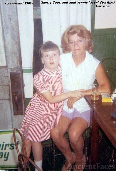Sherry Cook and Aunt Jennie
