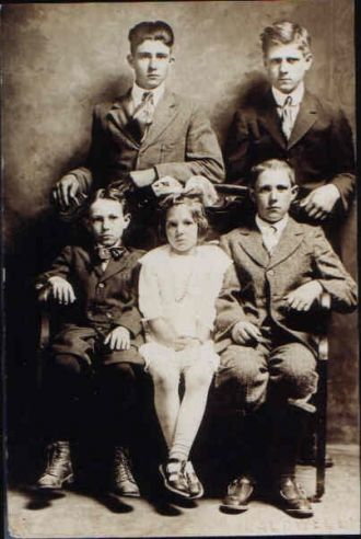William and Cora Campbells Children