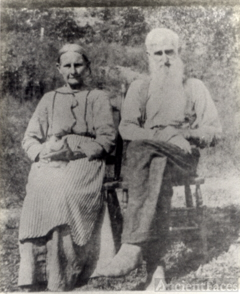 Martha (Paxton) and John Ashley, West Virginia