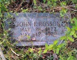 A photo of John F Rosson