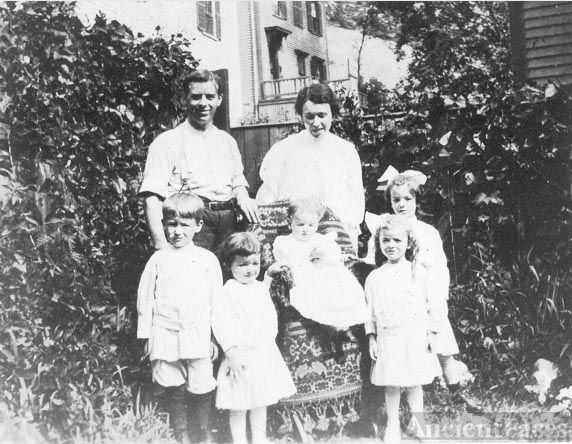 Pierre & Marie Baril Family, 1912