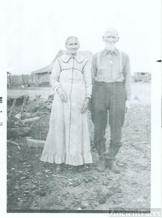Spruiell couple, Hubbard, Texas