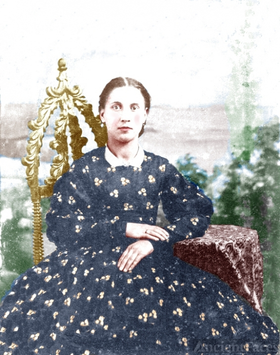 Sarah Ann Fleming, colorized
