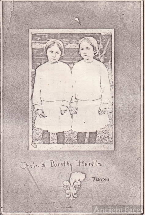 Doris and Dorothy BURRIS