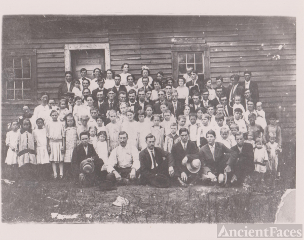 Whites Gap Baptist Church, Alabama 1913
