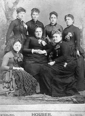Ladies Group; Sterling, Illinois