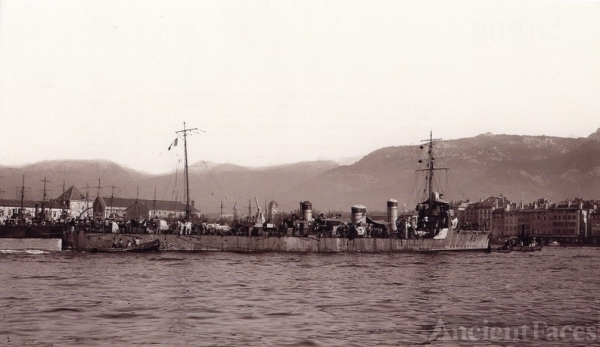 French Destroyer Bisson