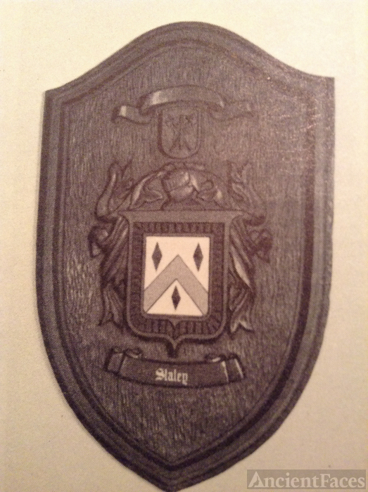 Staley coat of arms