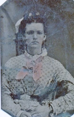 "A photo of Cyntha Jane ""Jenny"" (Payne) Morrow"