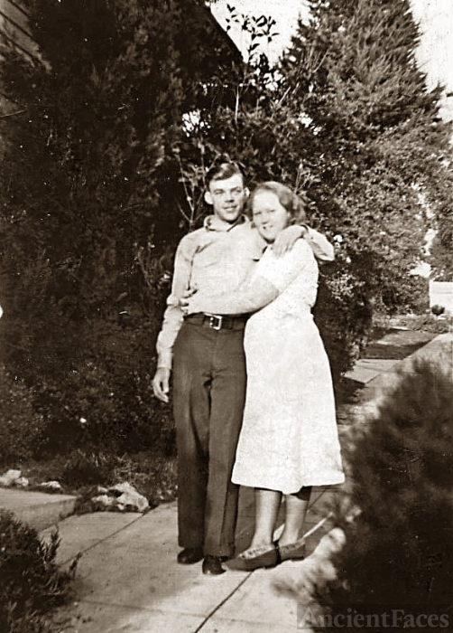 Edward Claren Clark and Ruth Florine Bruner,Clark