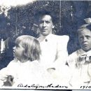 Hilda (Lunden) Swanson & daughters, Grace Ethel on left & Hilda on right