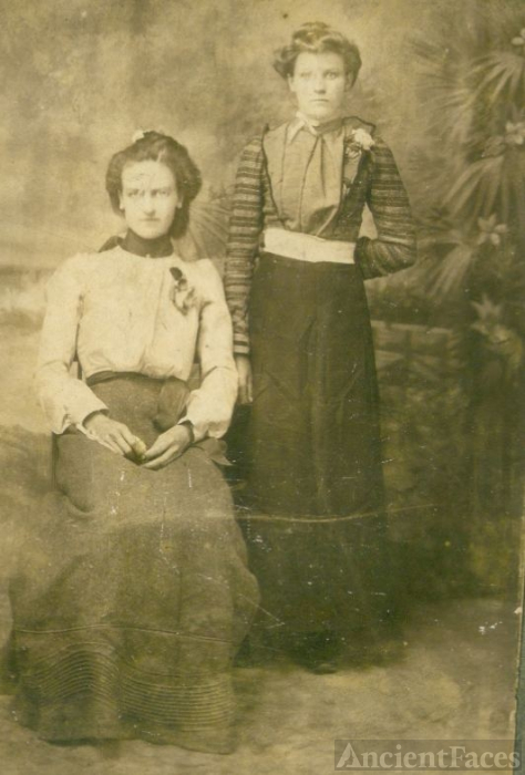 Beulah Norman & Francis Ann Combee