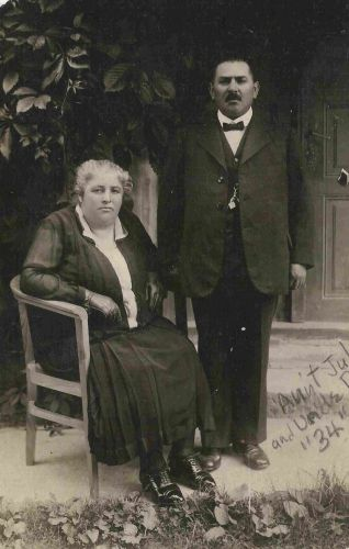 Portrait of David & Julia Weiss Rosenfeld