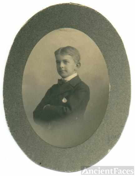Unknown Dapper Boy, Upstate New York, Acquaintance of Crary family.