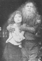 Vera Sisson and Lon Chaney, Sr.