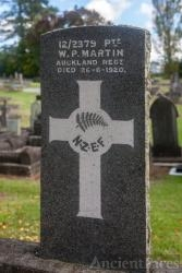 Private William Patrick Martin gravesite