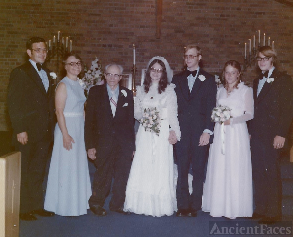 Carol (Zastera) & William Peterson Wedding
