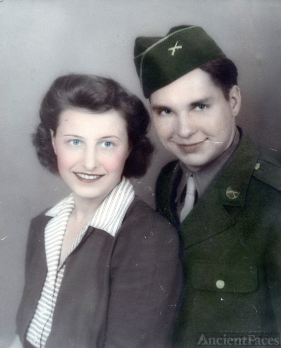 June & Charles E. Reed, 1943 Ohio