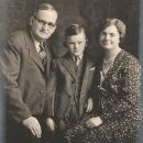 Victor, Winfield, and Ella Partridge, Maine 1930