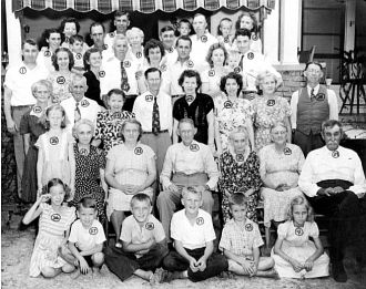 Green Family Reunion - Auburn, GA - March 1944