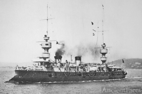 Bruix - French Armored Cruiser