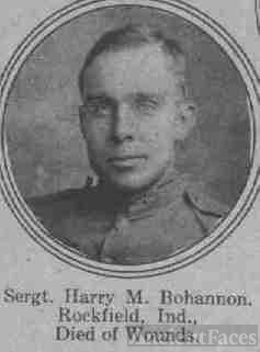 Sergeant Harry M. Bohannon